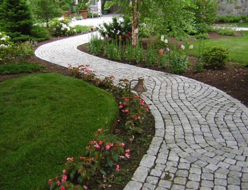 New Front Yard Walkway